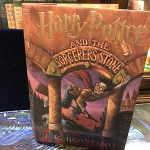 Harry Potter and the sorcerer's stone hardback boo